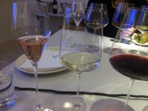 Fine fargekombinasjoner i Zalto glassene